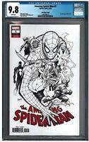 AMAZING SPIDER-MAN #1 CGC 9.8 (9/18) Marvel Sketch white pages
