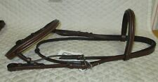 FLEX RIDER - English SHOW Bridle/Reins - X FULL - Raised/Padded -BRAND NEW