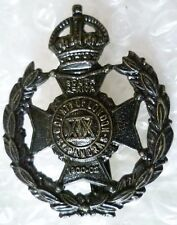 19th (St Pancras) Battalion County of London Regiment Cap Badge maker JR GAUNT