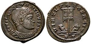 CONSTANTINE THE GREAT (320 AD) Rare Follis. Ticinum #RS 8120