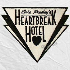 Elvis Presley's Heartbreak Hotel Embroidered Big Patch Jailhouse Rock The King
