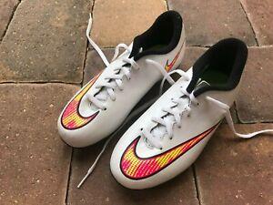 NWOB! NIKE Jr Mercurial Vortex II FG-R Youth Soccer Cleats Size 2.5Y WOW!!!