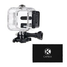 CamKix Waterproof Housing for GoPro Hero5 and Hero4 Session Action Camera - F...