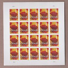 Counterfeit Diwali 'Stamp' Pane, Scott # 5142 (CF1) - Free Flat Shipping