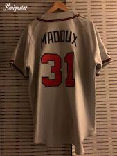 Authentic Greg Maddux 1995 Atlanta Braves Road Baseball Jersey