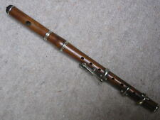 Nice old piccolo flute, made of brown wood