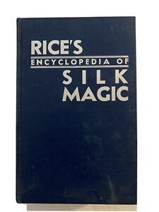 Rice's Encyclopedia Of Silk Magic   Volume Three   FREE Postage