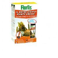 Flortis nutre giusto x piante grasse concime liquido 6 fiale monodose pronto uso