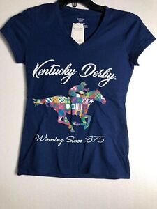 Kentucky Derby Run for the Roses New with Tags Graphic T-shirt Women's Small