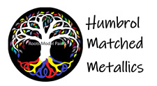 Humbrol Metallic Paint Silver & Gold 15ml- Matched Colours : Roots Model Paint