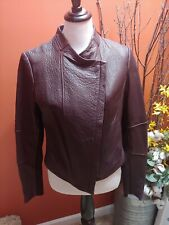 Vince Leather Coat. New with Tags.