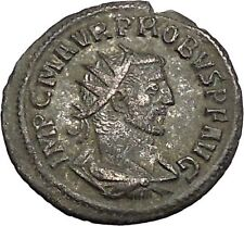 PROBUS 278AD Authentic Ancient Roman Coin Orbis with wreath  i51016