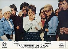 ANNIE GIRARDOT  ALAIN DELON TRAITEMENT DE CHOC 1973 PHOTO D'EXPLOITATION #3