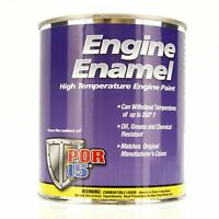 POR-15 42038 Black Engine Enamel - 1 pint