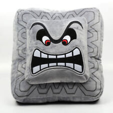 Super Mario Bros Thwomp Dossun Plush Doll Toy Game Cushion Pillow 6 inch US Ship