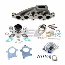 REV9 90-94 TOYOTA MR-2 3SGTE T3T4 T3 MANIFOLD TURBO CHARGER SET UP KIT 350HP+