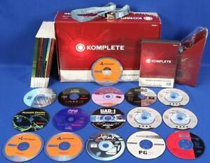 Native Instruments Komplete 3 Software Bundle 13 Instruments & Effects No Serial