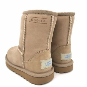NEW 2019 TODDLER INFNT UGG CLASSIC II SAND WATR RESISTANT 40 COLLECTION 1100932T