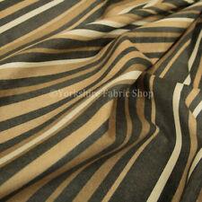 Tessuti e stoffe Beige A righe in ciniglia per hobby creativi