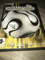 Championship Manager 2006 PC Game Complete with Manual Football Video Game