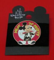 SMALL Disney Enamel Pin Badge Mickey Mouse Character Neat 'N' Pretty Design