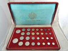 Thailand 1966 Royal Thai Mint Commemorative Coin Set of 32 Coins w/ORIG. BOX