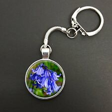 Bluebell Flower On A Snake Keyring Ideal Birthday Gift N945