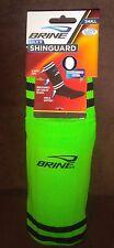 Soccer Sock Shinguard Light Green Size Medium