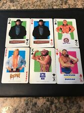 1991 Titan Sports WWF Playing Cards: Undertaker Rc, Bulldog, Macho Man, Piper