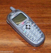 Kyocera Rave KE433 - Gray (Virgin Mobile) CDMA Cellular Phone w/ AC Power Supply