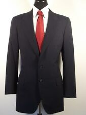 Oxxford Clothes Neiman Marcus navy stripe 2 button  wool suit, 41T, 41L