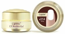 CANNI Nail Extension Builder Gel 15ml Natural Camouflage/Jelly UV gel 25 COLOURS