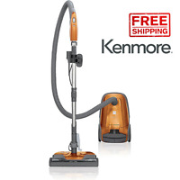 Kenmore 81214 200 Series Bagged Canister Vacuum Orange - Brand New