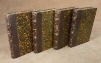 OEUVRES POETIQUES DE J. RACINE en 4 Tomes - PLON EDITEUR  1861-1863    ///