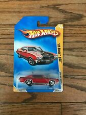 NEW Hot Wheels Diecast 1:64, 2009 New Models, '70 Buick GSX, Red