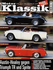 Motor Klassik 11/02 2002 Giulietta SZ Austin-Healey 3000 Sprite Glas Isar T 700