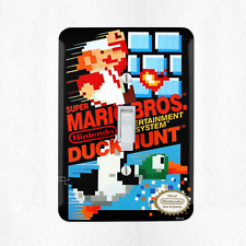 Super Mario Duck Hunt Light Switch Cover Plate Duplex Outlet Video Game Dog New
