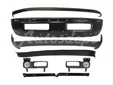 For 94-98 Dodge Ram 1500 2500 3500 Front Bumper Black Upper Valance Air Dam 10Pc