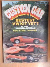 "Custom Car Cars, 1970s Magazines"""