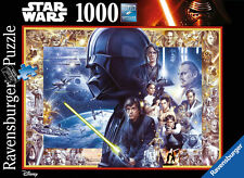 Star Wars Saga (Disney), 1000 Piece Jigsaw Puzzle Made by Ravensburger, NEW