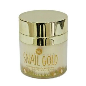 Cathy Doll Snail Gold Firming Facial Cream Wrinkle Skin Soft Smooth Radiant 50g