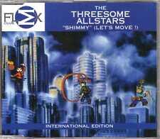The Threesome Allstars - Shimmy (Let's Move!) - CDM - 1998 - House Flex Denmark