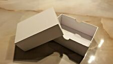 10er Set Pappschachtel, rechteckig, mit Deckel, Karton, Geschenkbox, zum basteln