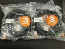 New listing New Sealed Monoprice Premium Hdmi Cable 6ft Black 4K@60Hz Hdr 18Gbps 28Awg, 3 Pk