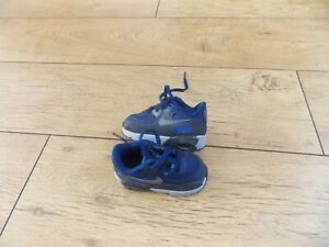 BABY BOYS NIKE AIR MAX TRAINERS SIZE 3.5