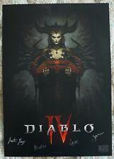 Blizzcon 2019 Diablo 4 Signed Mini Poster