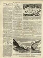 1891 región de hielo en poco Tíbet billete de autobús decisión