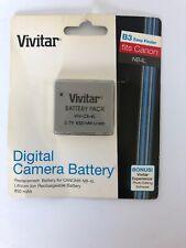 Vivitar Digital Camera Battery. Fits Canon NB4L