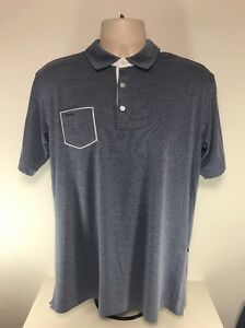 Ping Collection Teigen Polo, Deep Sea Blue, Size Large, BNWT