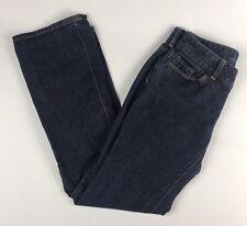 Ann Taylor Loft Size 4 PETITE Jeans Curvy Boot  Blue Denim Jeans EUC! AK